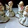 Napco Christmas Angel figurines