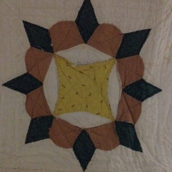 does anyone know what the name of this quilt pattern is? I have been told it is from late 1800s