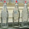 Old Coca Cola Bottles ----- Date//Marks