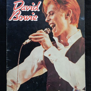 1978 David Bowie Australasian Tour souvenir book/concert program - Music Memorabilia