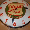 1950's Vess Cola Clock made by Pam Clocks