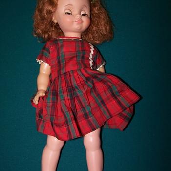photos of 3 dolls