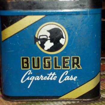 Bugler cigarette tin - Tobacciana