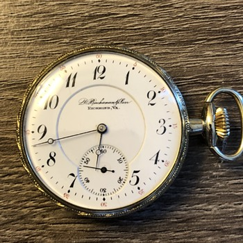 Buchanan Illinois pocket watch  - Pocket Watches