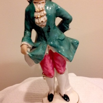 French Figurine? - Pottery
