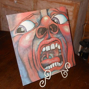 King Crimson In the Court of the Crimson King LP Japanese Import - Records