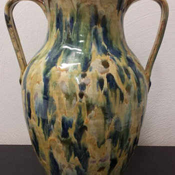 Beautiful Neolia Cole Two Handle Vase - Pottery