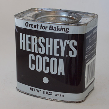 Old Hershey Cocoa Powder Tin, and Two Coffee Tins - Advertising