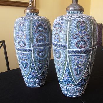 Pair of chinese(?) vases