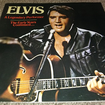ELVIS A. PRESLEY...JAN. 1935-AUG. 1977 - Music Memorabilia
