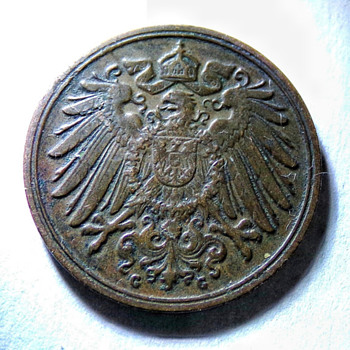 1892-G 1 Pfennig? - World Coins