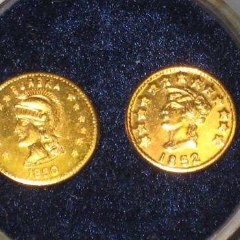 Gold coins California