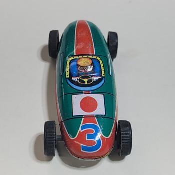 1960s Lucky Toy Formula Car - Toys