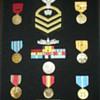 My Dad's U.S. Navy Medals in a Shadow Box