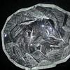 LOVELY GLASS FRUIT BOWL HOYA CRYSTAL