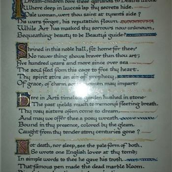 "Poem Dedicated To Ilaria Carretta ""Tuscan Bride"" By Mary J. Thompson - Books"