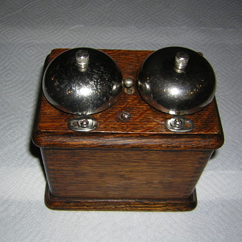 antique ringer with unknown maker???? - Telephones