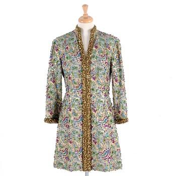 Victoria Royal Ltd. Beaded Broacade Dress - Womens Clothing