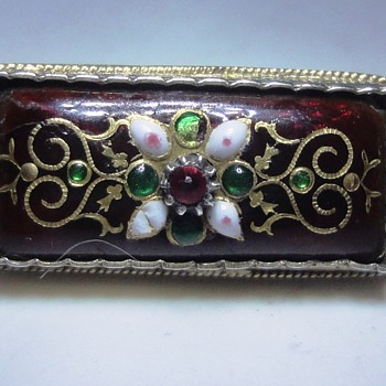 Enameled Silver Bressant brooch to complete my collection  - Fine Jewelry