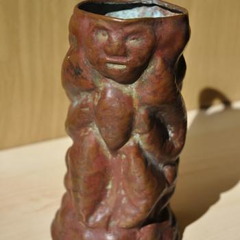 Copper jug ??of unknown origin