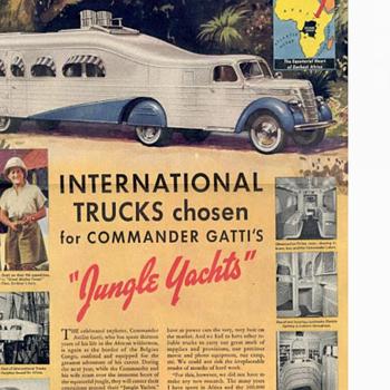 Pre war  jungle exploration ,,GATTI's the  Seeker   - Postcards