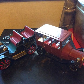 My tin cars - Model Cars
