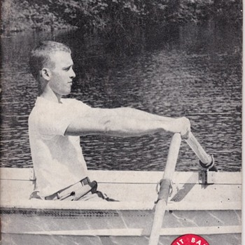 Saturday Evening Scout Post Rowing Merit Badge Book 1964 - Sporting Goods