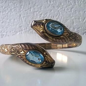 Andreas Daub, Pforzheim Germany Art Deco Style Bracelet Thrift Shop Find $1.00