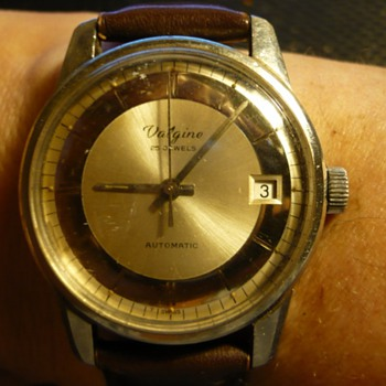 1960s 25 J Auto Valgine Wristwatch