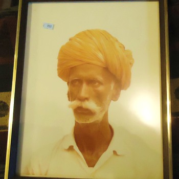 Gospel Thrift Store Photo, print, or? Doorman Jaipur India 1975 $5.00 - Posters and Prints