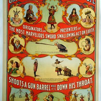 """Original """"Victorina"""" Stone Lithograph Poster"""