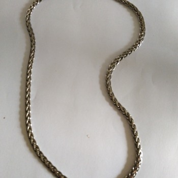 My Sterling chain - Fine Jewelry