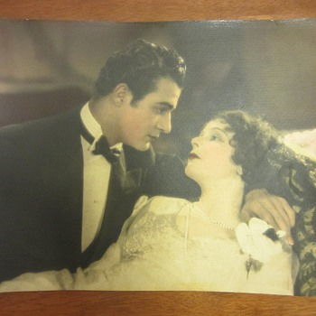 "Gilbert Roland & Norma Talmadge Photograph From 1926 Film, ""Camille"""