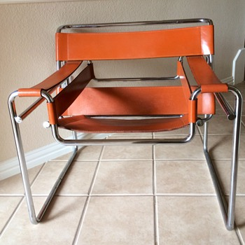 Marcel Breuer Wassily Chair Model B3  - Furniture