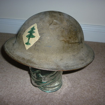 American Expeditionary Force WW1 helmet
