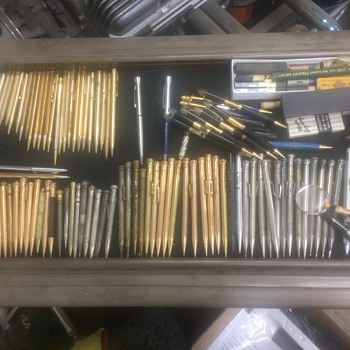 Collect vintage pen and pencil - Pens