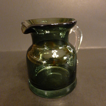 Art glass pitcher - Art Glass