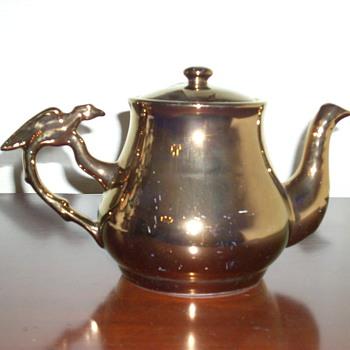 My favorite lustre ware teapot - Kitchen