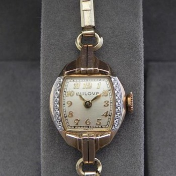 1947 Bulova Goddess of Time - Wristwatches