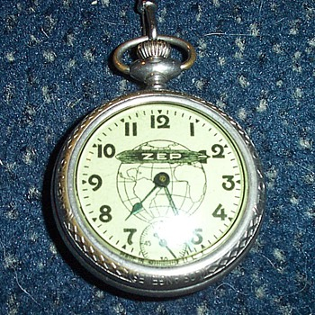 Graf Zeppelin - Commemorative Watch - Pocket Watches