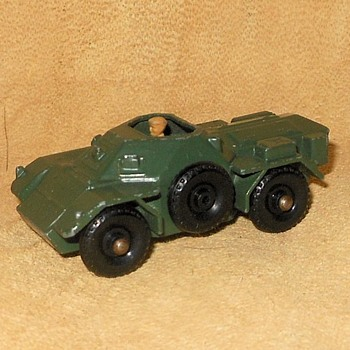 More Multiple Military Matchbox Mondy MB-61 Ferret Scout Car 1959-1966 - Model Cars
