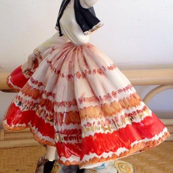 Antique Italian figurine Spanish dancer - Figurines