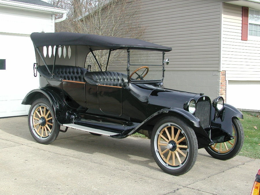 Top Bow Rest Off A 1919 Dodge Brothers Touring Car | Collectors Weekly