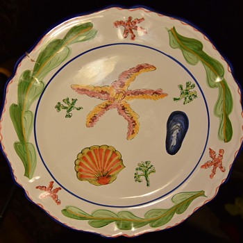 Very Large Platter - L'Antica Deruta - for Majilly? - Pottery
