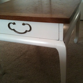 Please help identify: American of Martinsville Table - Mid-Century Modern