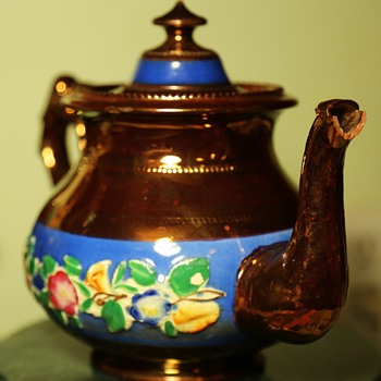 Very Old Luster Tea Pot - Kitchen