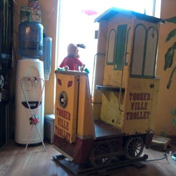 ToonerVille Trolley ~ Bally Mfg. - Railroadiana