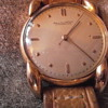 Father's antique IWC 18 karat gold watch