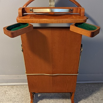 Birkdale Eaton's of Canada valet stand. - Accessories