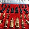 Mystical Viking/ Mongolian chess figurines
